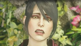 Dragon Age Inquisition - Meeting Flemeth after Morrigan Drank from the Well