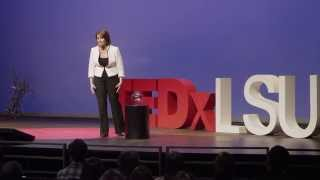 Breaking glass- a leadership story: Dima Ghawi at TEDxLSU