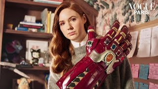 Inside Avengers Star Karen Gillan's Home For A Perfect Night In | Vogue Paris