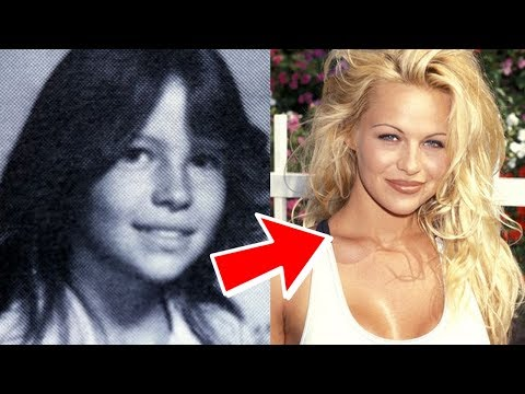 Evolution of Pamela Anderson in 2 minutes