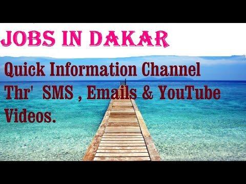 Jobs in DAKAR   City for freshers & graduates. industries, companies. SENEGAL