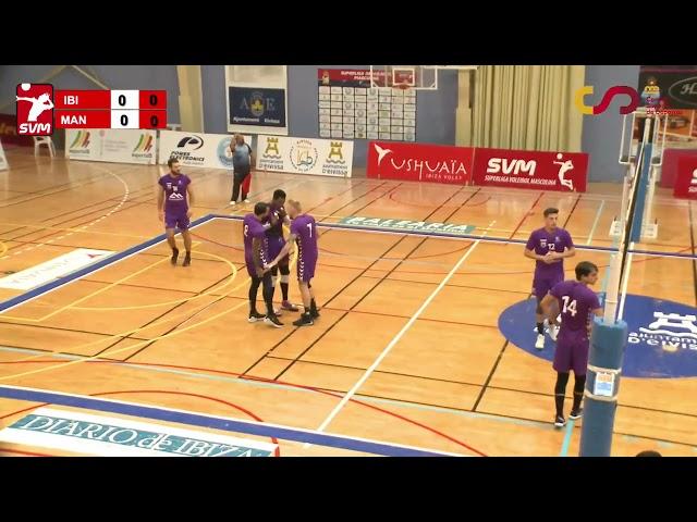 SVM2022 Jornada 2  UD Ibiza Ushuaïa Volley   Conetabalear CV Manacor