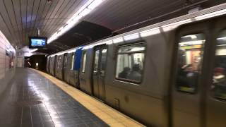 Hoboken Bound Train Of PA-5s @ Exchange Place [ PATH / Port Authority Trans-Hudson ]