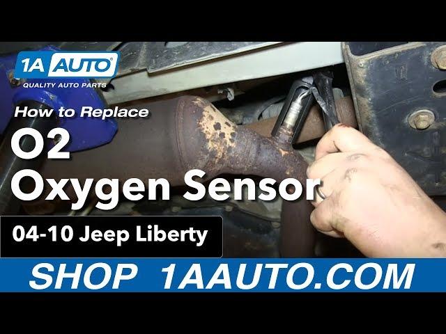 How To Replace O2 Oxygen Sensor 04 10 Jeep Liberty 1a Auto
