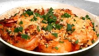 Butter-baked Prawns With Garlic : Cooking Fresh With Seafood