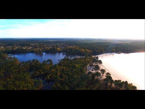 Drone: Lac d'Hostens