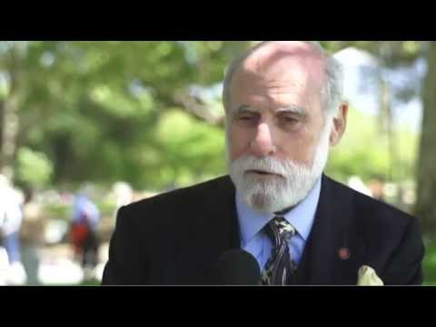 Vint Cerf interviewed at 40th anniversary of TCP/IP in Palo Alto on May 10th, 2014