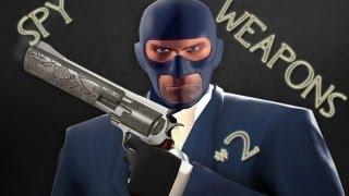 Оружие для шпиона, какое выбрать? | Уроки шпионажа [TF2]