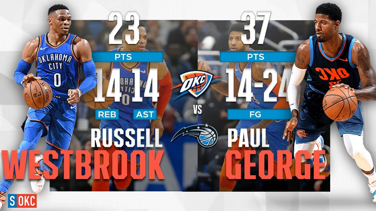 Russell Westbrook   Paul George s Thunderous 60 Points b37bdb2f9