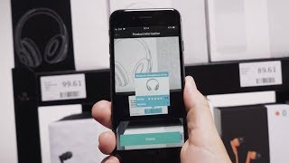Scandit Augmented Reality Retail Product Information IOS