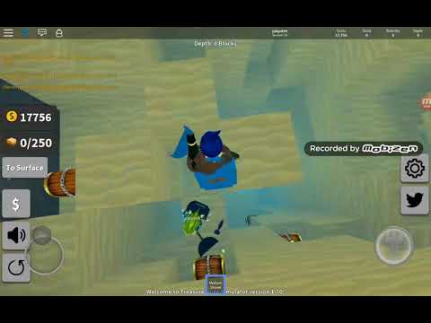 PLAYING ROBLOX treasure hunt really fun playing with friend