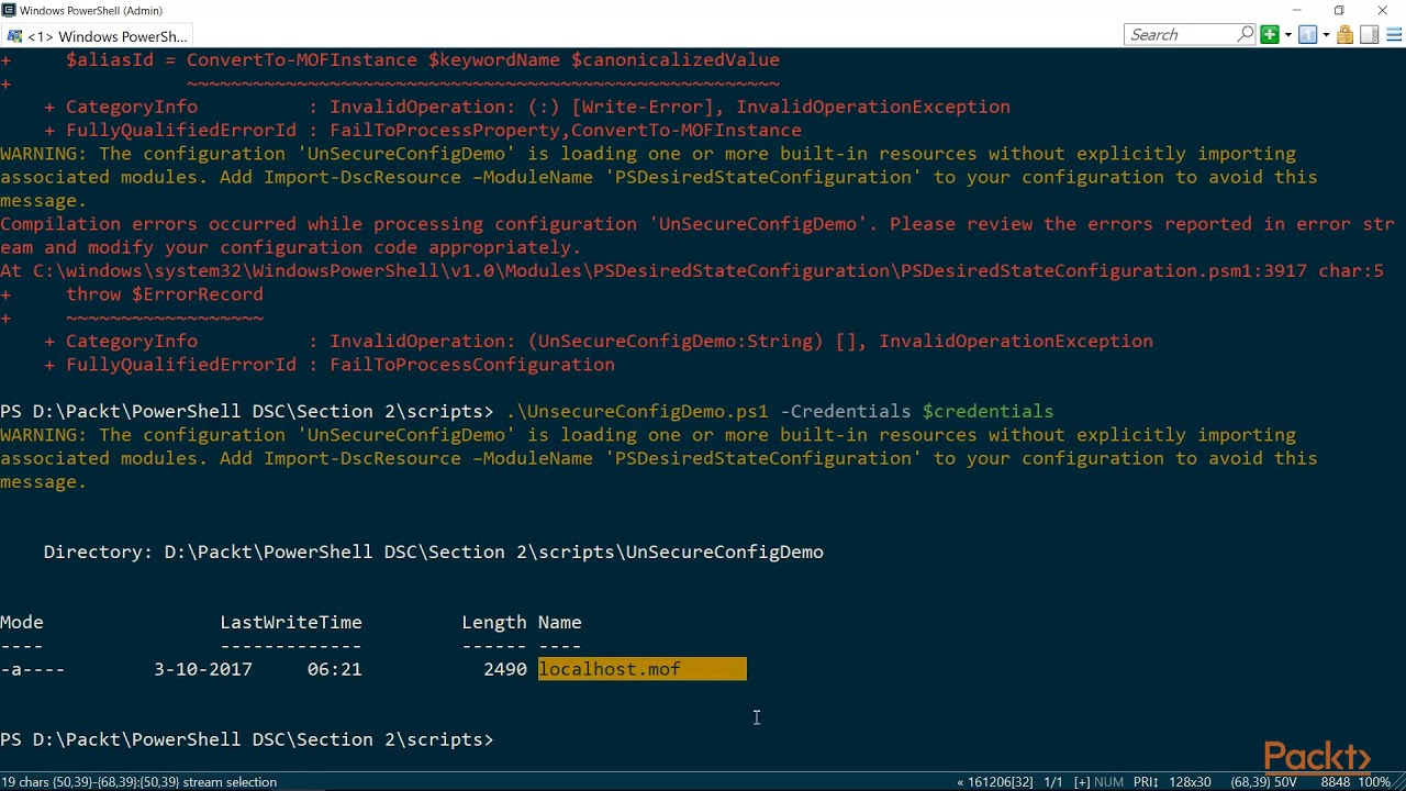 feab8563a8 Getting Started with PowerShell DSC  Securing Credentials in MOF Files