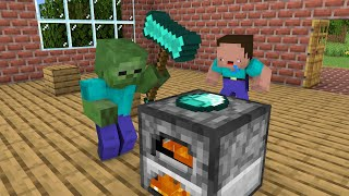 MONSTER SCHOOL : SMELT GOLD - FUNNY MINECRAFT ANIMATION