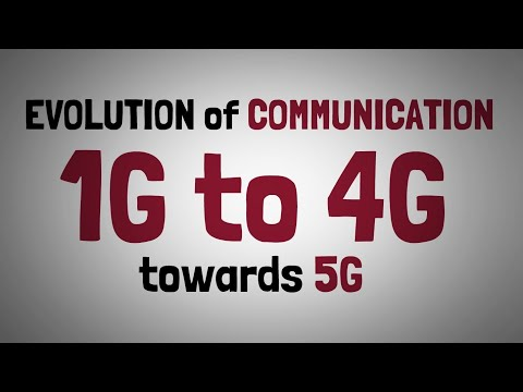 2 - From 1G to 4G & Towards 5G - Evolution Of Communication