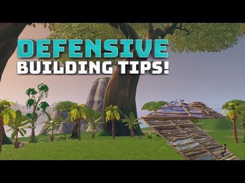 Defensive Building - (Fortnite Battle Royale!)