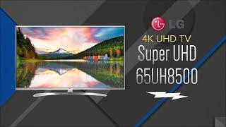 LG 65 Silver Super UHD 4K 3D Smart LED HDTV 65UH8500 - Overview
