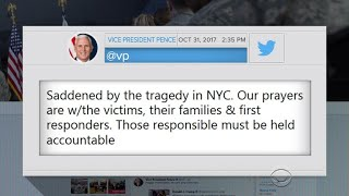 White House reacts to NYC terror attack