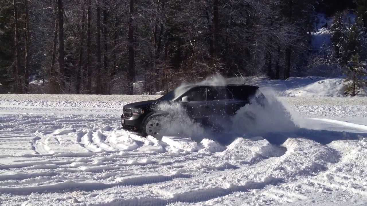 Dodge Durango In Snow Youtube