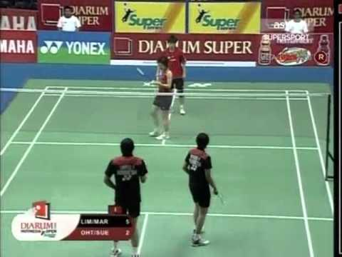 djarum indonesia open 2008 Flandy LIMPELE 3 Vita MARISSA vs Tadashi OHTSUKA Satoko SUETSUNA DJARUM INDONESIA OPEN 2008 Quater Final1