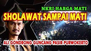 Histeris Sholawat Sai Mati TERBARU Gus Ali Gondrong di Pasir Purwokerto Barat
