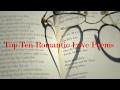 Top Ten Romantic Love Poems mp3