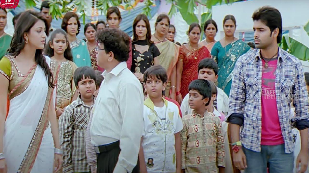 Ram Pothineni & Kajal Aggarwal Emotional Scene | Telugu Movies | Telugu Videos