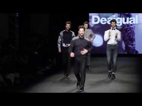 cfa30d79f583 Desigual presenta su colección Otoño-Invierno 2015 para hombre - YouTube