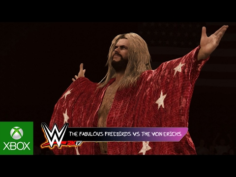 WWE 2K17 Hall of Fame Showcase Trailer