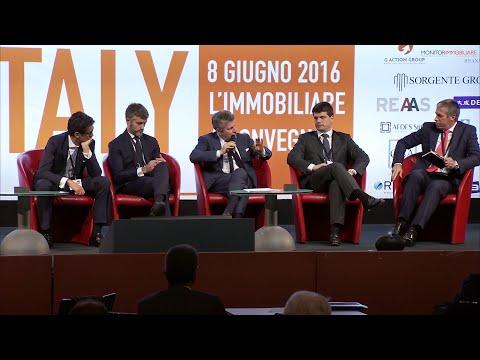 RE Italy, 8 giugno 2016: i video integrali, Investimenti esteri in Italia, focus su NPL