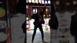 2018.3.20&걷고싶은거리&홍대&찰리두마리치킨앞&버스킹&댄스팀&Diem(태니)&by큰별