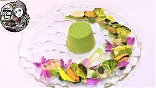 貝類のサラダ ブロッコリーのムース Shellfish salad and broccoli mousse【ラファエルクッキング Raphael cooking】