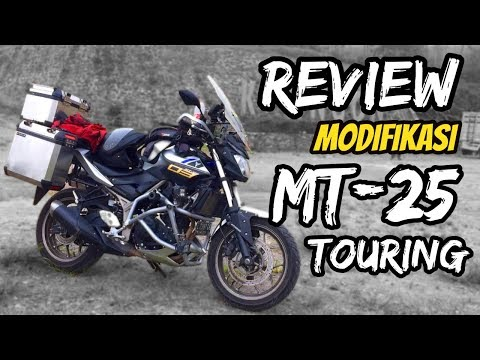 REVIEW MODIFIKASI YAMAHA MT-25 | Adventure Touring