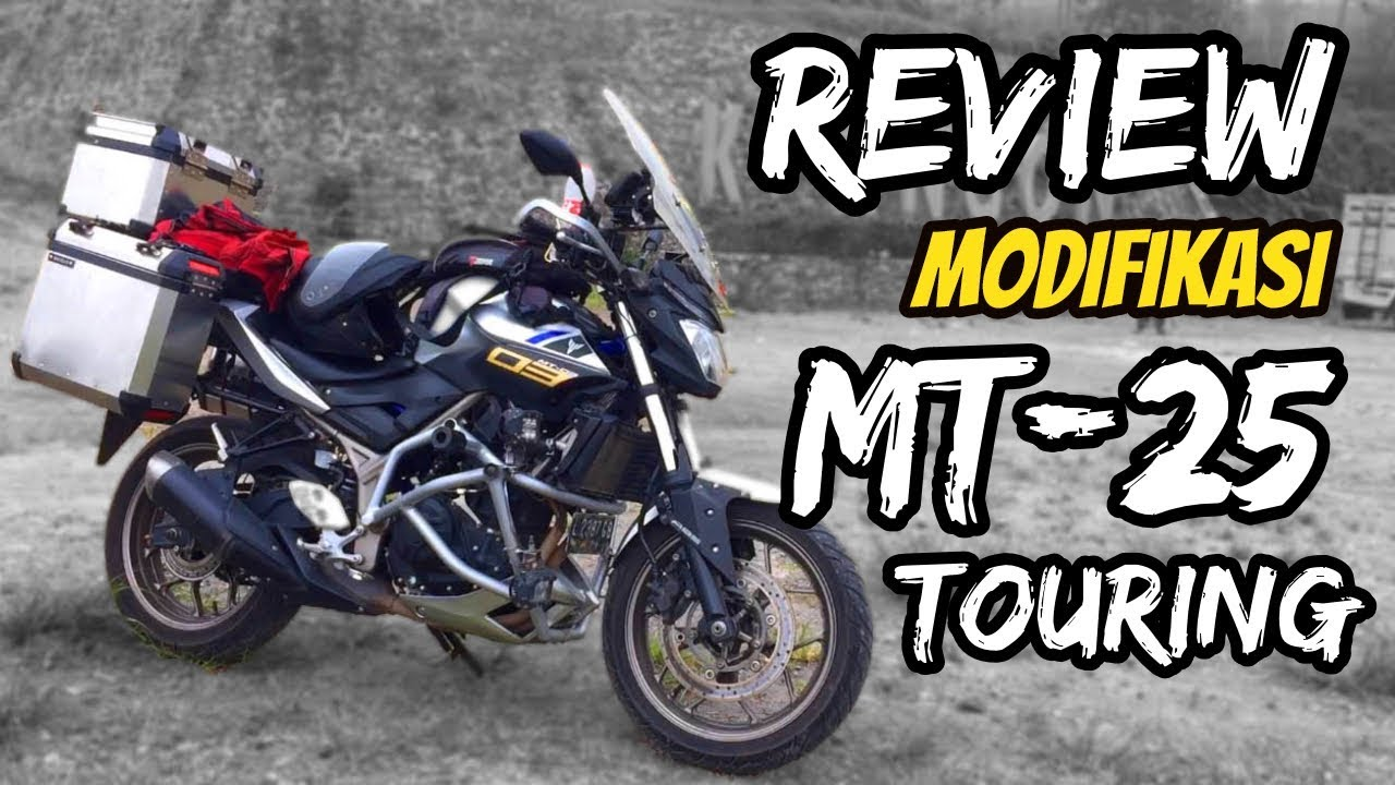 Review Modifikasi Yamaha Mt 25 Adventure Touring