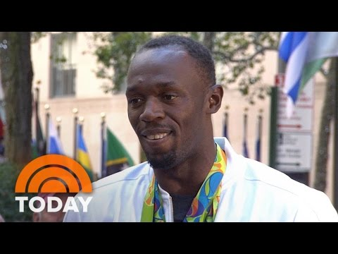 Usain Bolt: The First Thing I Did After Rio Was Relax | TODAY