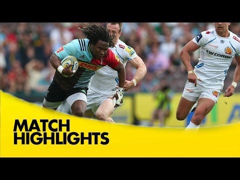 Harlequins v Exeter Chiefs - Aviva Premiership Rugby 2015/16