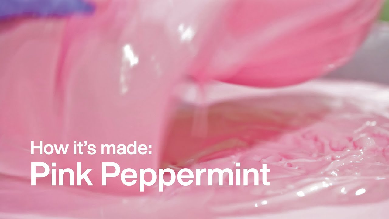 How It's Made: Pink Peppermint | Lush Kitchen - YouTube