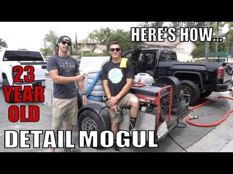 Auto Detail Mogul At 23 Years Old!