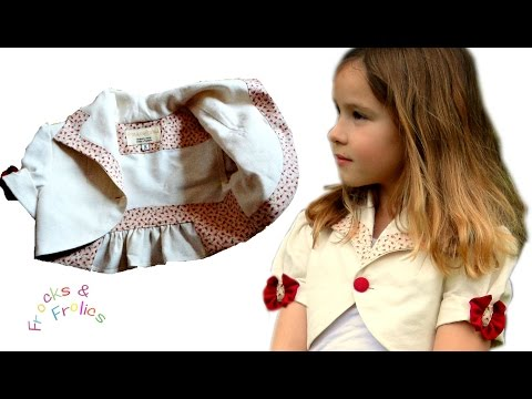 Jacket for Girls - How to - Advanced Sewing Pattern