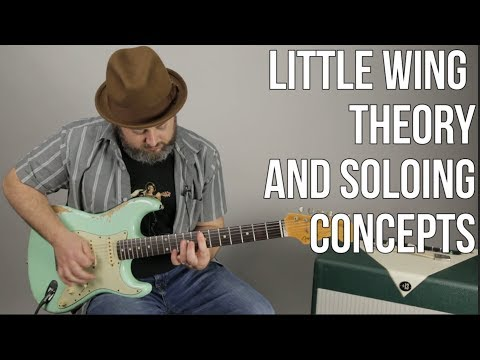Music Theory Lesson - Little Wing - Chords and Solo Concepts - Jimi Hendrix mp3