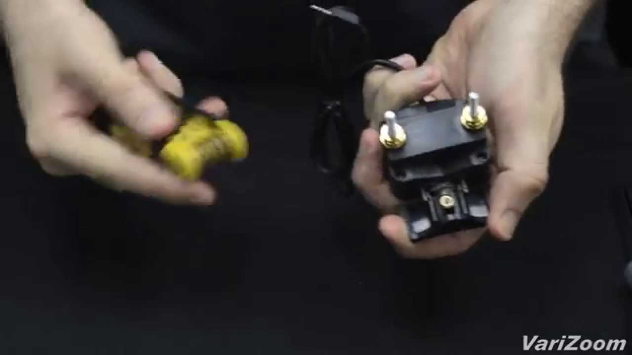 Black Varizoom VZROCKC100 Canon C100 Controller