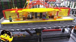 LEGO Train Station MOC update #5 - Vloggest