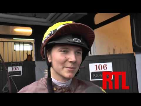 Interview de Camille Levesque, Jockey de QUARRY BAY - RTL - RTL