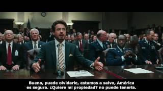 Iron Man 2 - Trailer oficial HD 720p en Ingles subtitulado en Español