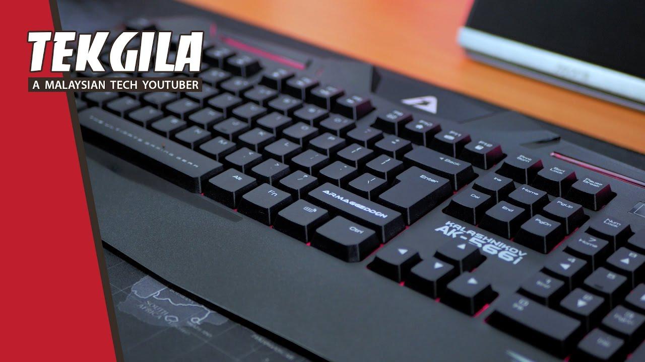Armaggeddon Gaming Keyboard Ak 5668 Daftar Harga Termurah Terkini Mka 3c Psychfalcon Bawah Rm50 Kalashnikov 566i