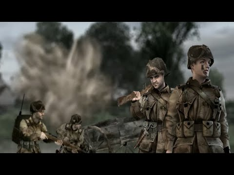 Objective XYZ - Brothers in Arms: Road to Hill 30 Game play |