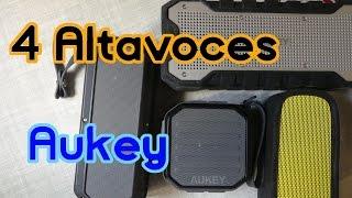Los 4 mejores altavoces bluetooth de Aukey - Review