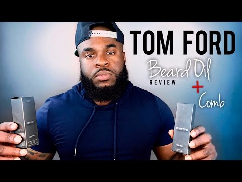 Tobacco Vanille Beard Oil Review | Tom Ford Beard Oil Fragrance + Beard Comb Fail