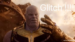 Thanos but glitch. Fortnite
