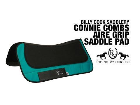 Connie Combs by Billy Cook Aire Grip Shock Saddle Pad