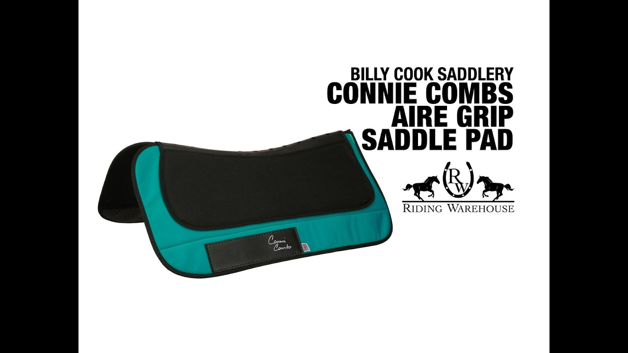 Connie Combs AireGrip Western Saddle Pad by Billy Cook - Riding